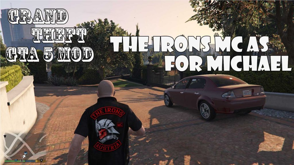 The Irons MC AS Gille For Michael Mod For GTA5