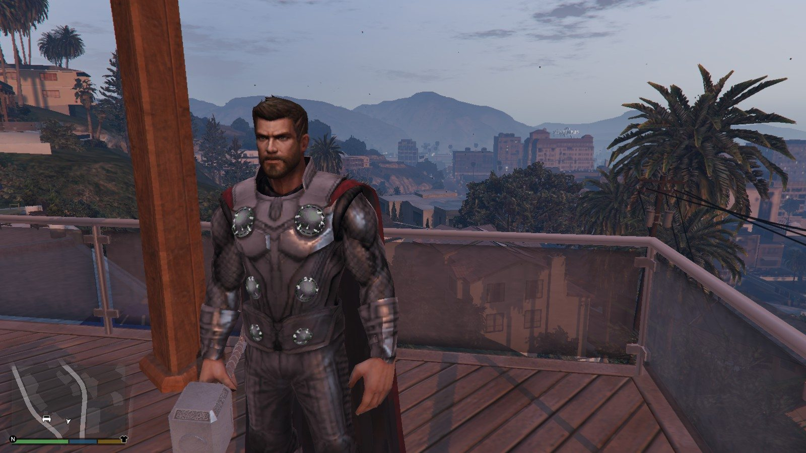 Thor IW and Thor End Game GTA5 Mods (1)