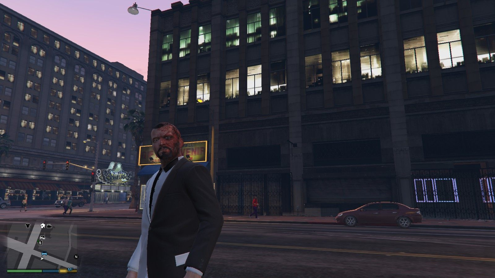 Two-face Michael GTA5 Mods (3)