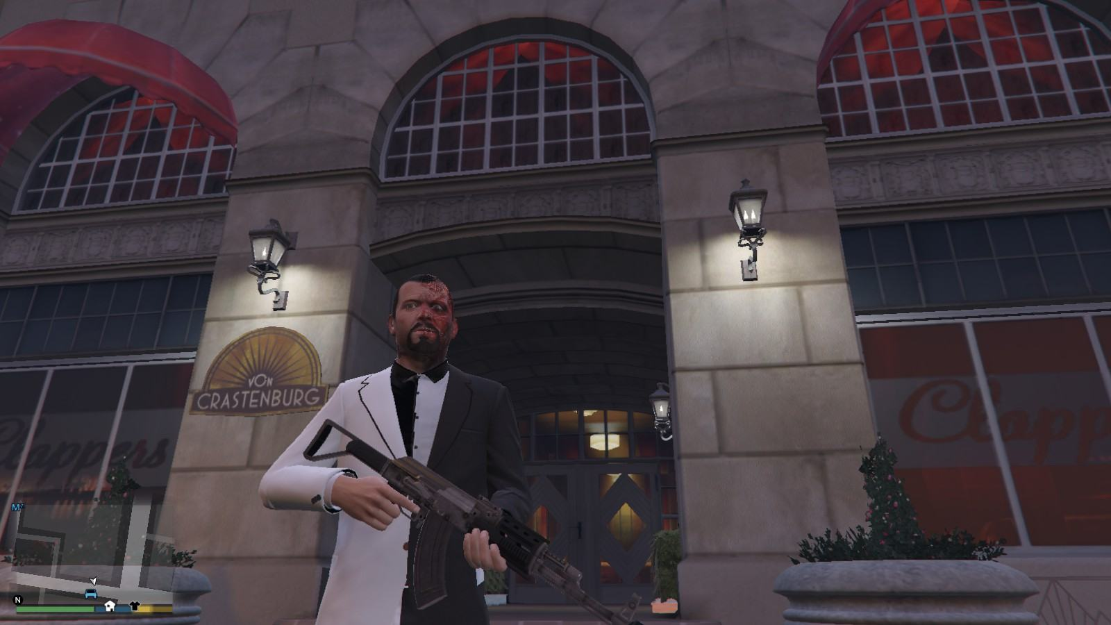 Two-face Michael GTA5 Mods (4)
