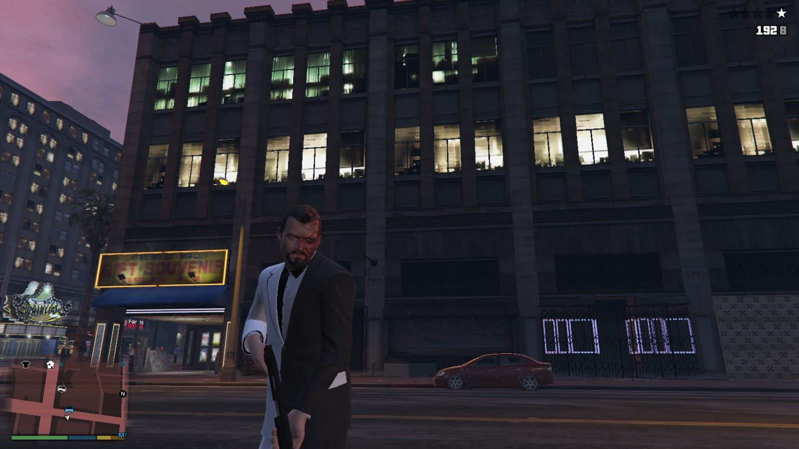 Two-face Michael GTA5 Mods (5)