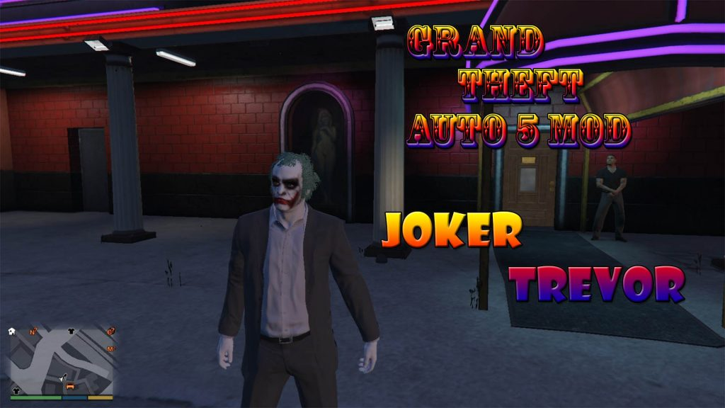 Joker Trevor Mod For GTA5