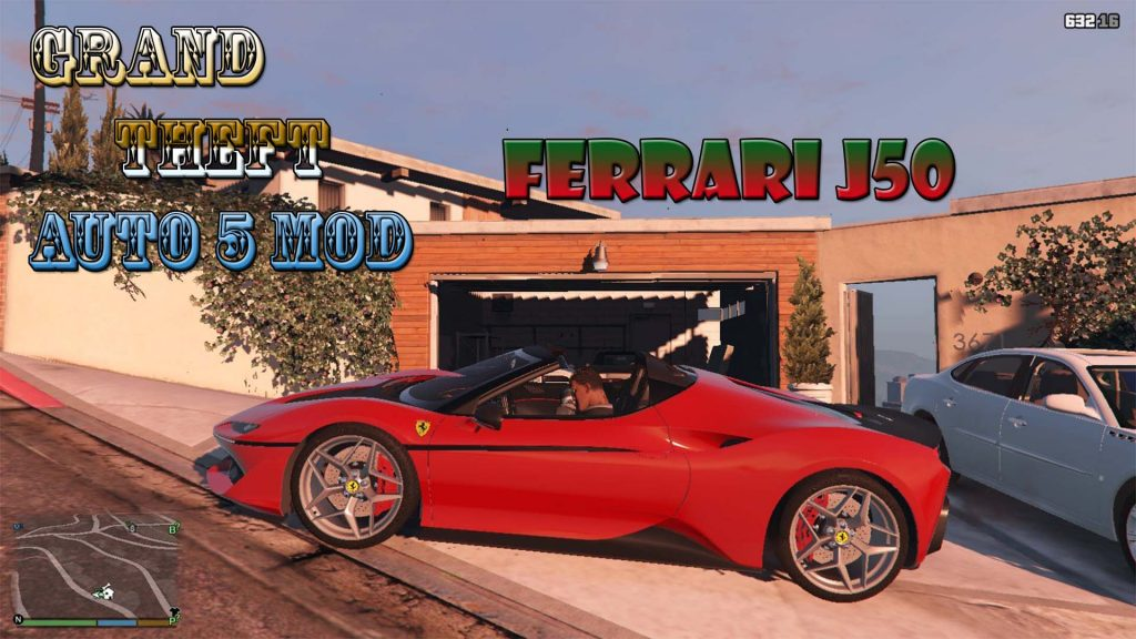2016 Ferrari J50 Mod For GTA5