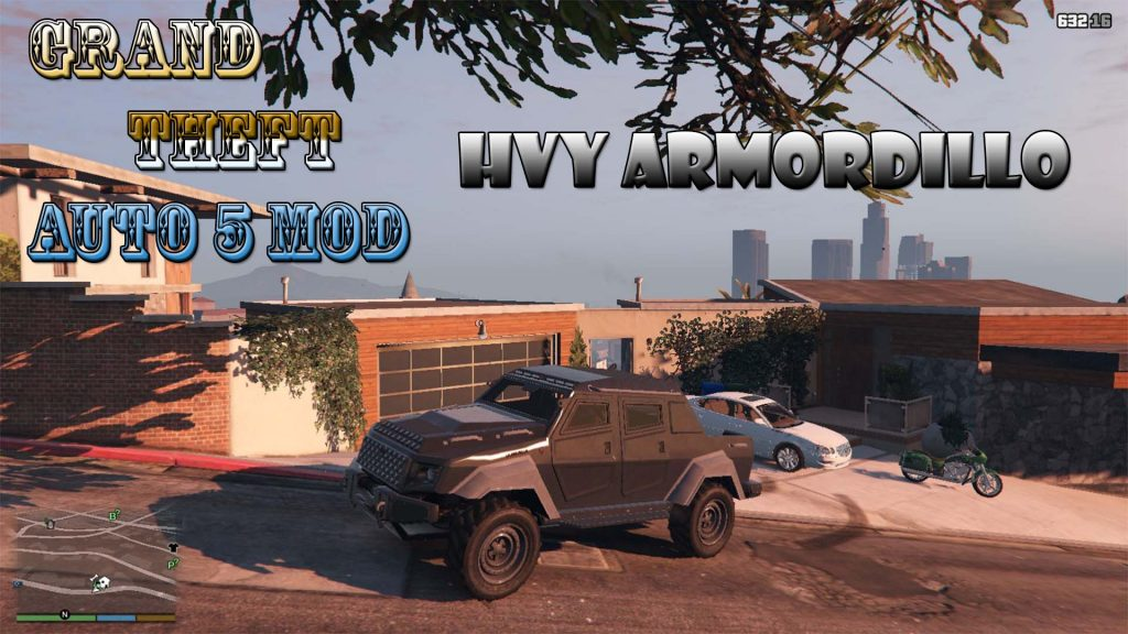 HVY Armordillo Off-road Truck Mod For GTA5