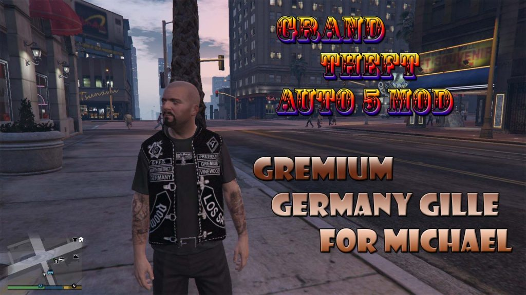 Gremium Germany Gille For Michael Mod For GTA5