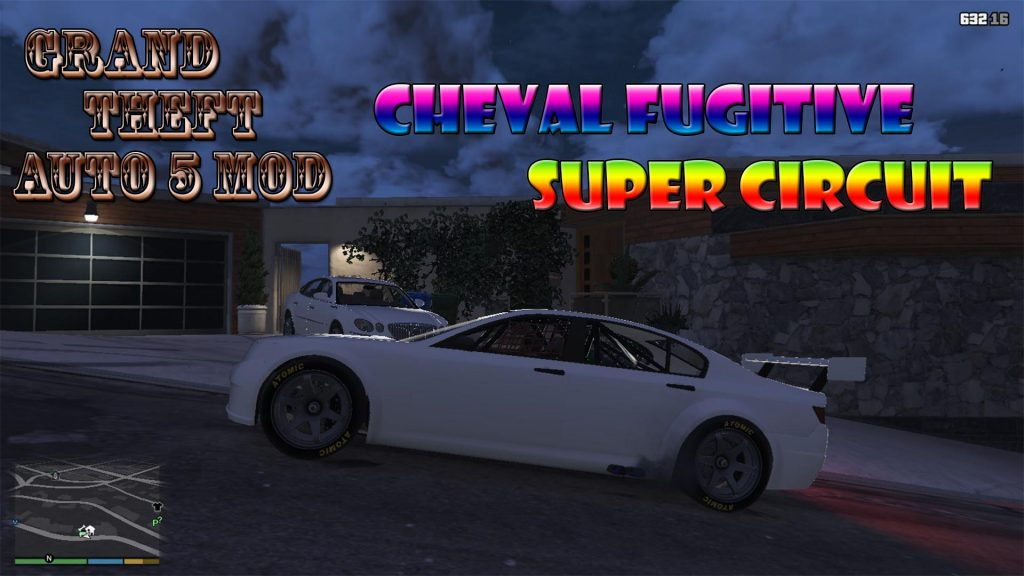 Cheval Fugitive Super Circuit Mod For GTA5