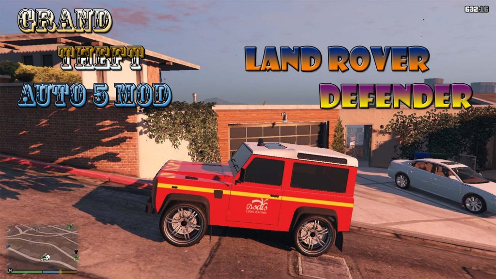 Land Rover Defender VLHR Mod For GTA5