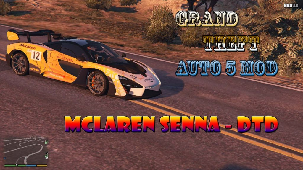 McLaren Senna Car Mod For GTA5