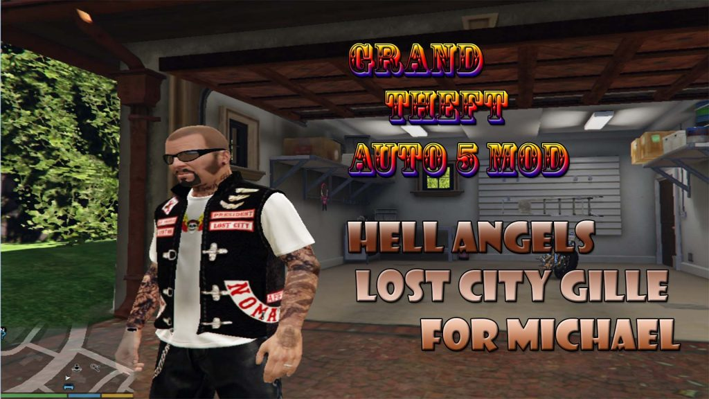 Hells Angels Lost City Gille For Michael Mod For GTA5