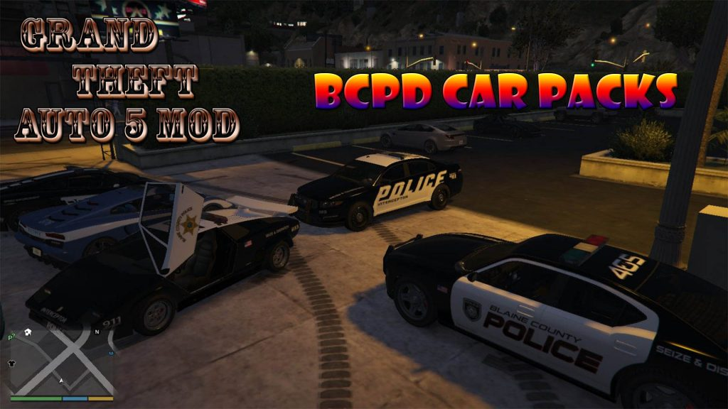 Hot Pursuit Blaine County PD Pack Mod For GTA5