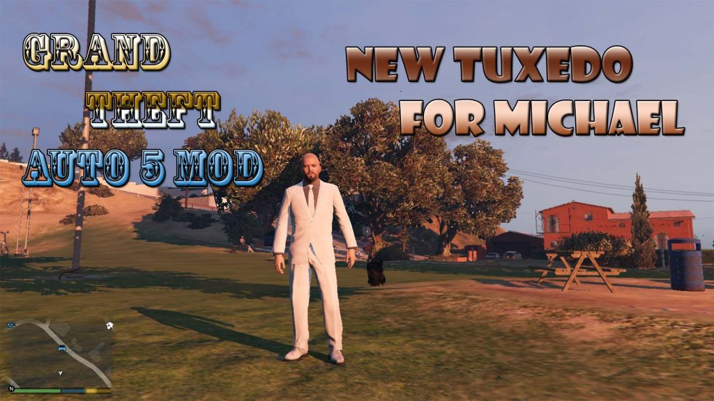 New Tuxedo For Michael Mod For GTA5