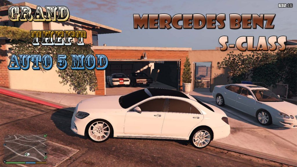 Mercedes Benz S-Class Mod For GTA5