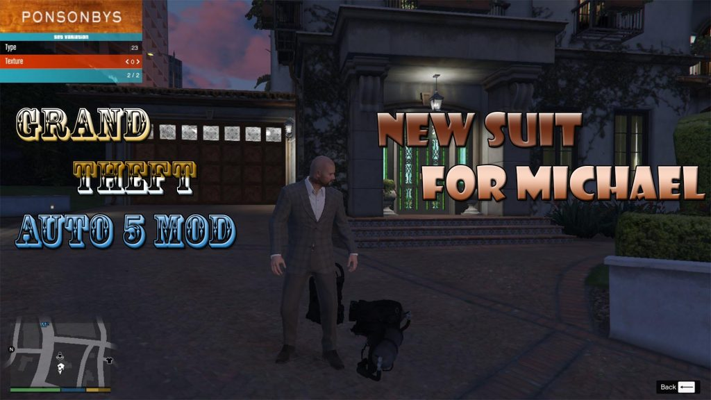 New Suit Pack For Michael Mod For GTA5