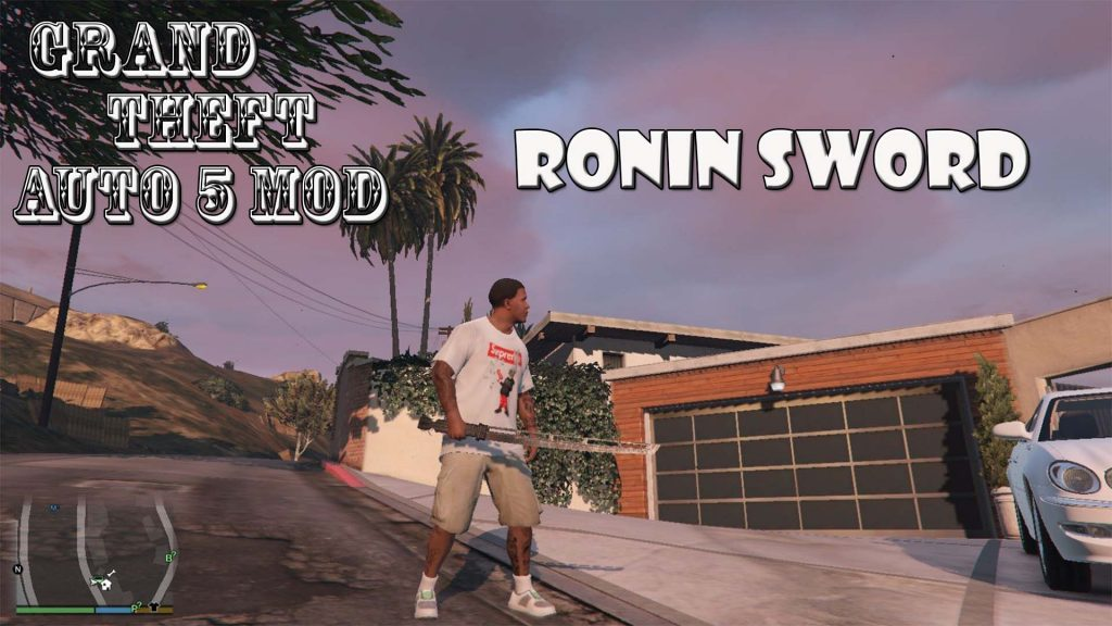 Ronin Sword Mod For GTA5