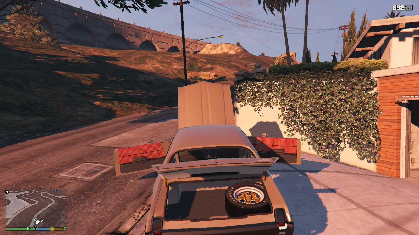 1969 Oldsmobile Hurst 442 GTA5 Mods (16)