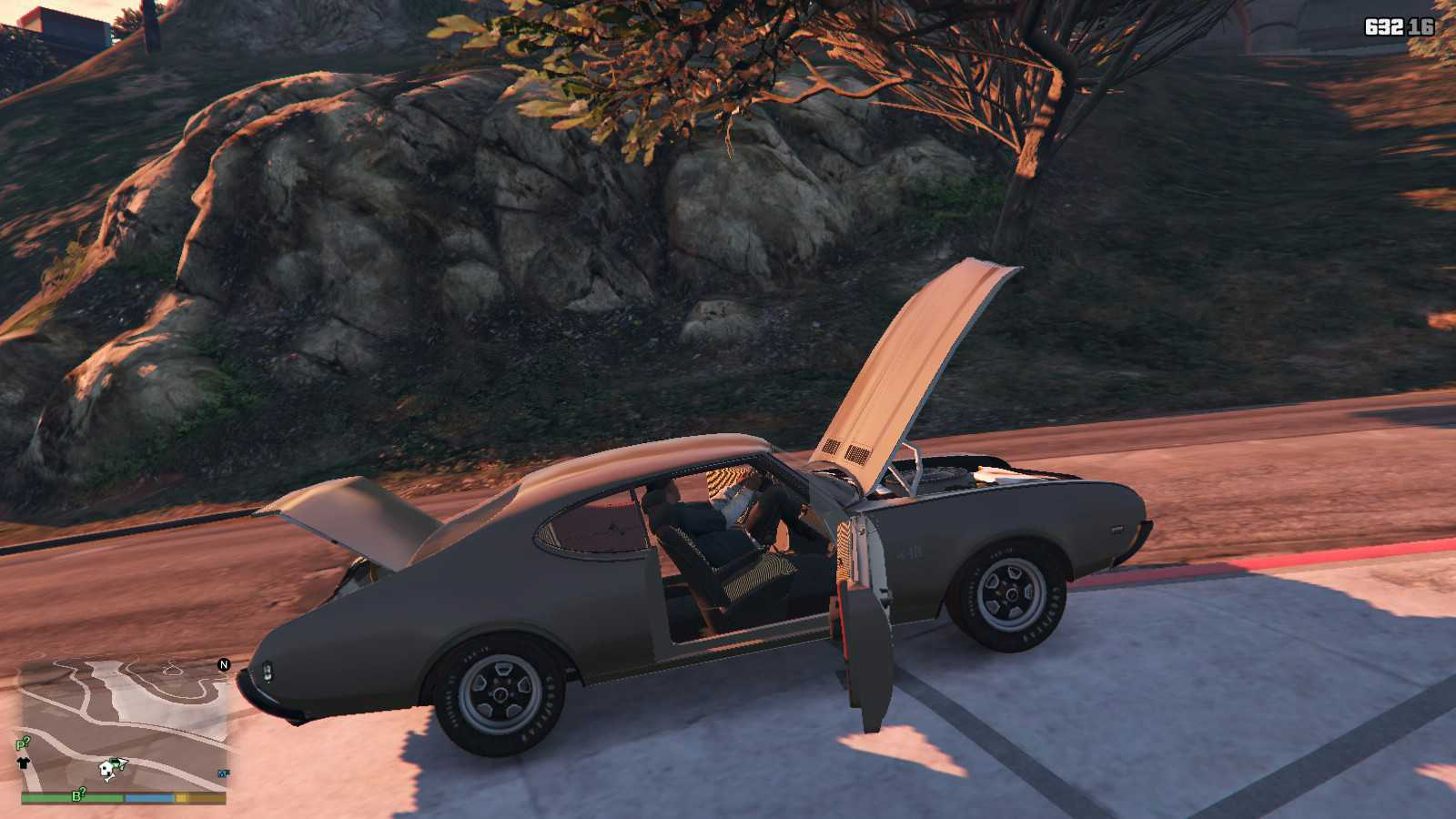1969 Oldsmobile Hurst 442 GTA5 Mods (17)