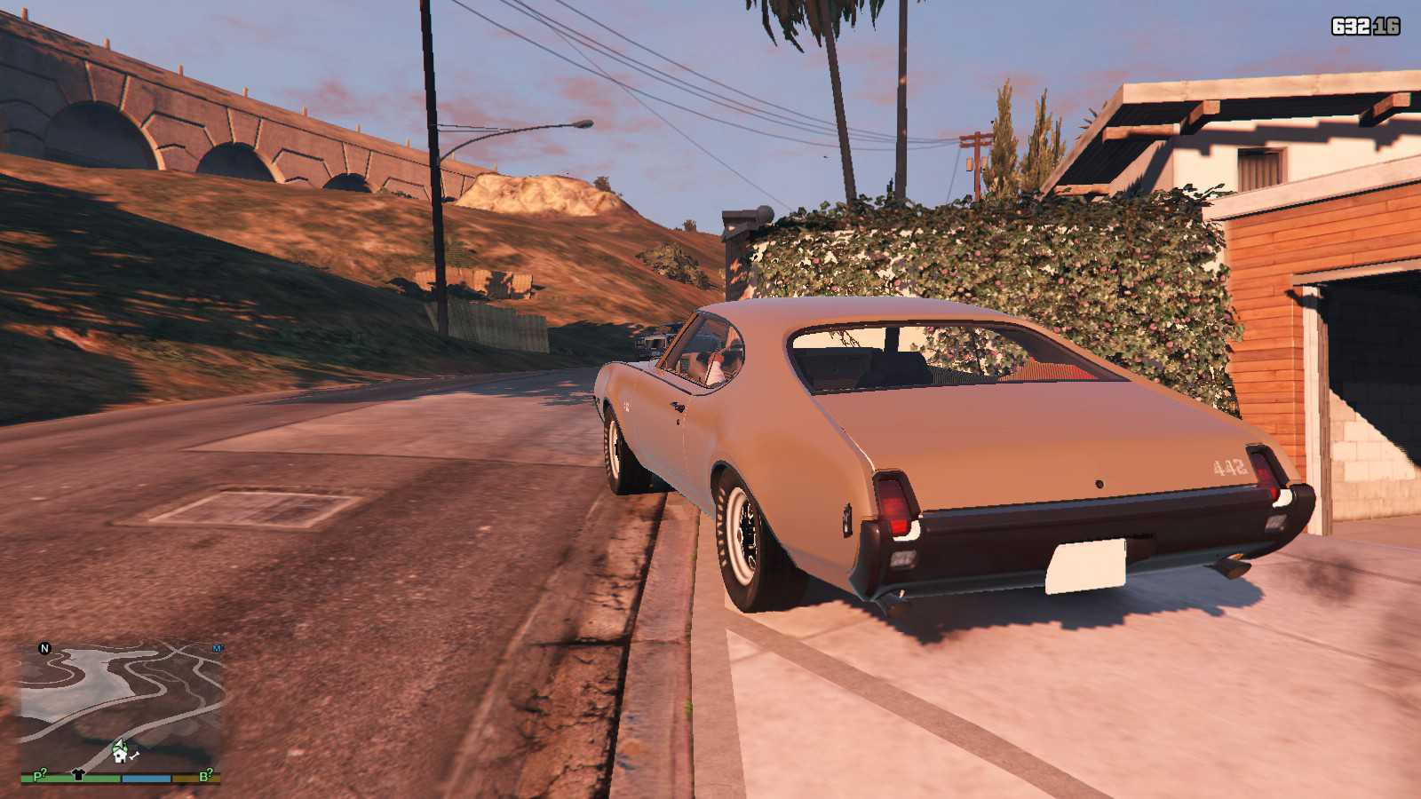 1969 Oldsmobile Hurst 442 GTA5 Mods (9)