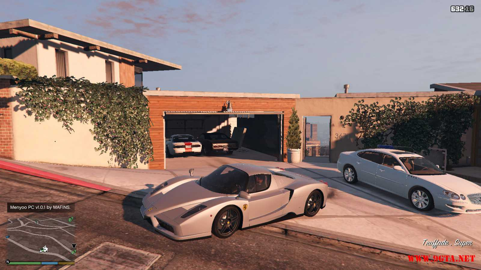 2002 Ferrari Enzo Mod For Gta5 9gta Gta 5 Mods