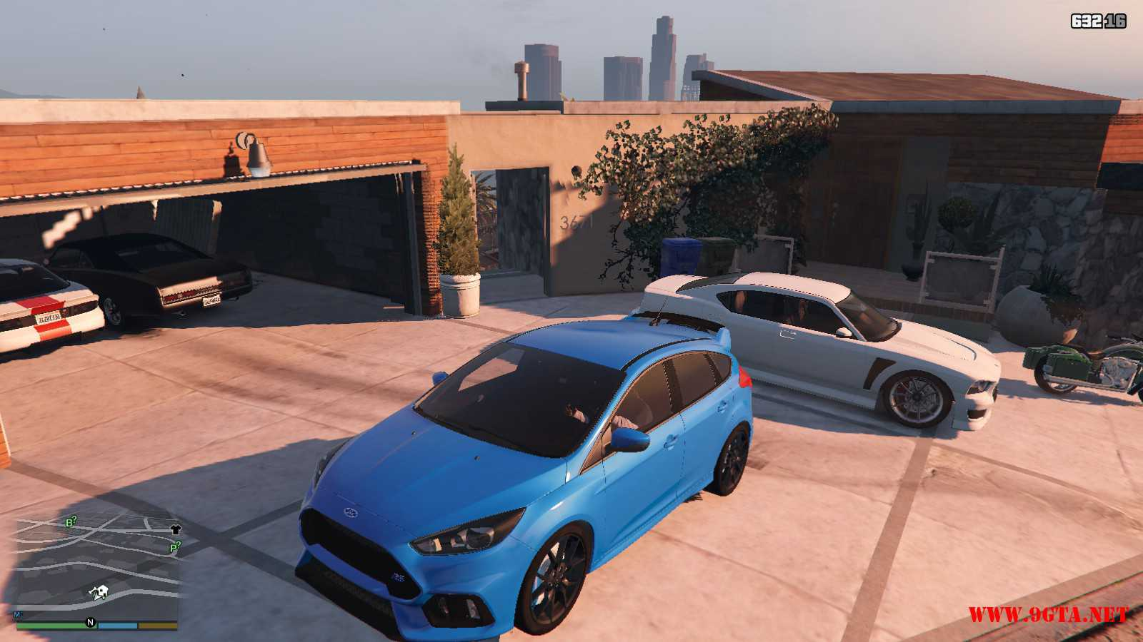 2017 Ford Focus RS GTA5 Mods (1)
