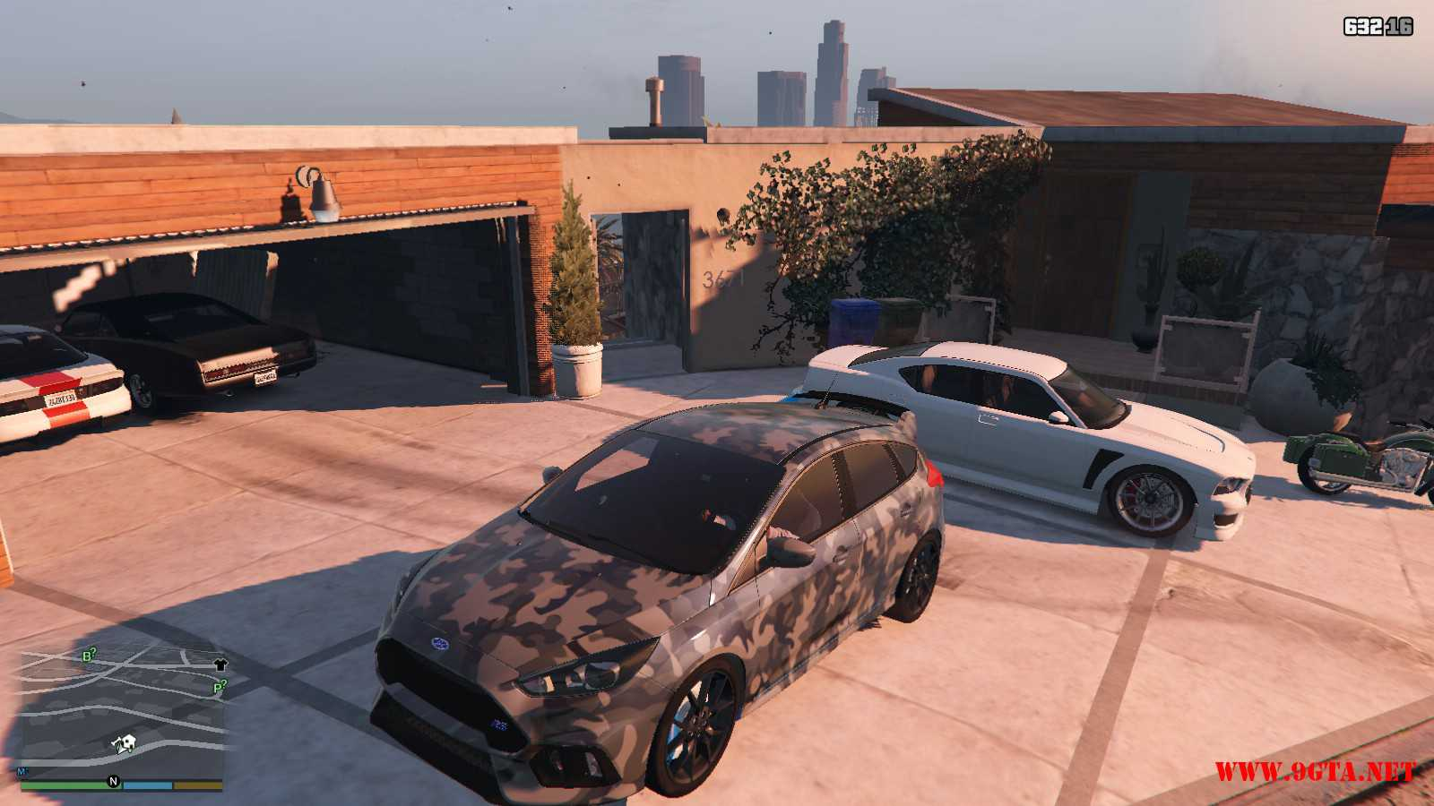 2017 Ford Focus RS GTA5 Mods (3)