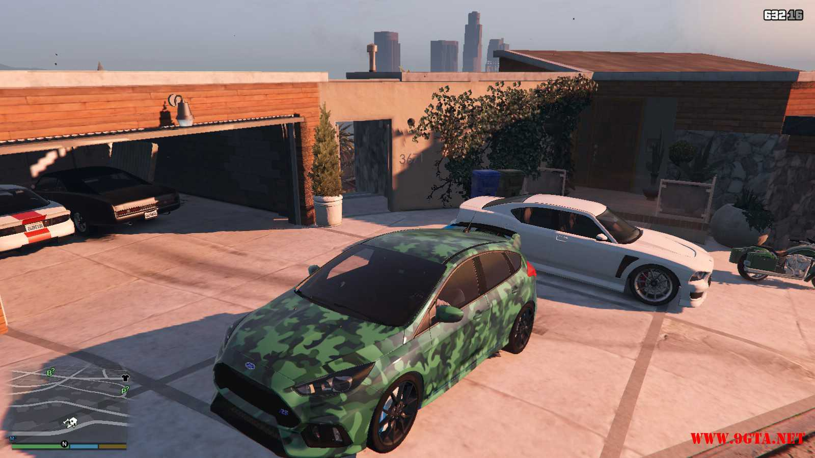 2017 Ford Focus RS GTA5 Mods (4)