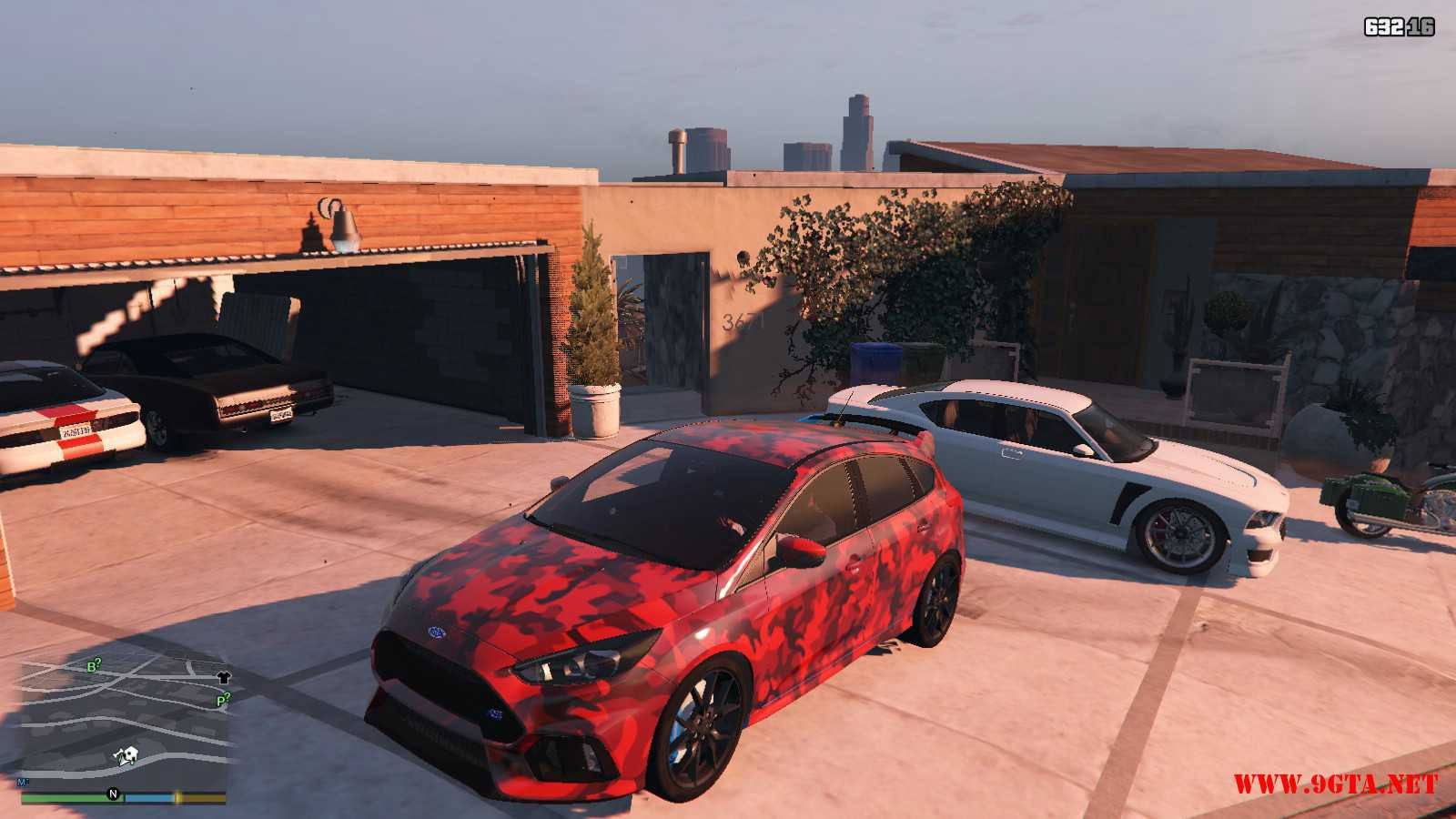 2017 Ford Focus RS GTA5 Mods (8)