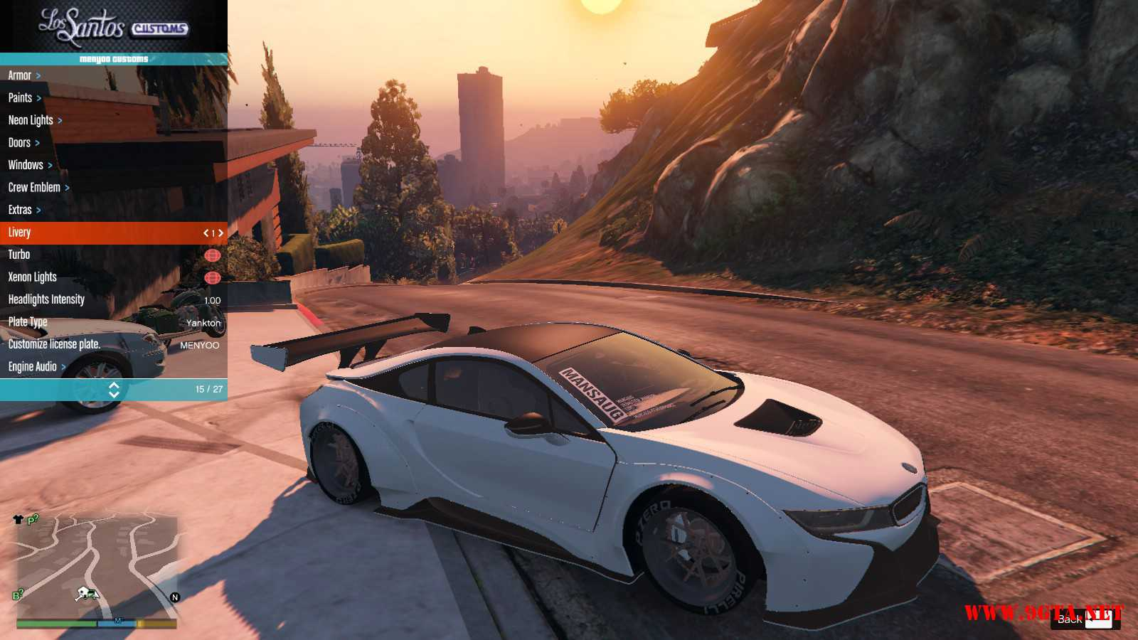 BMW I8 GTA5 Mods (1)