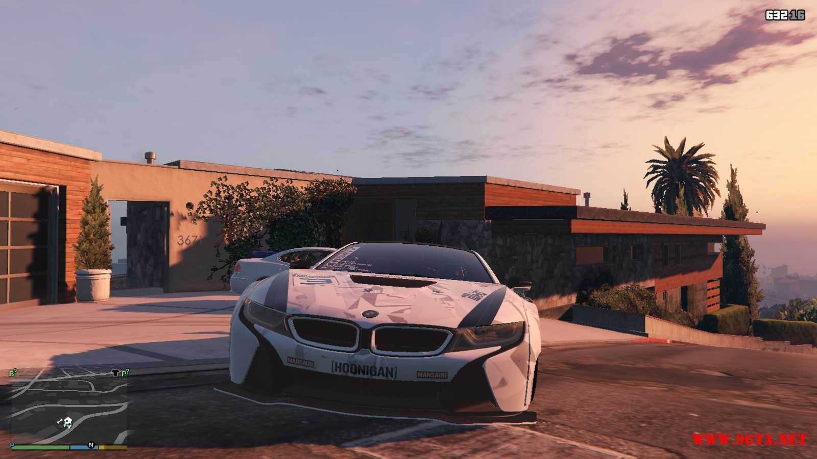 BMW I8 GTA5 Mods (12)