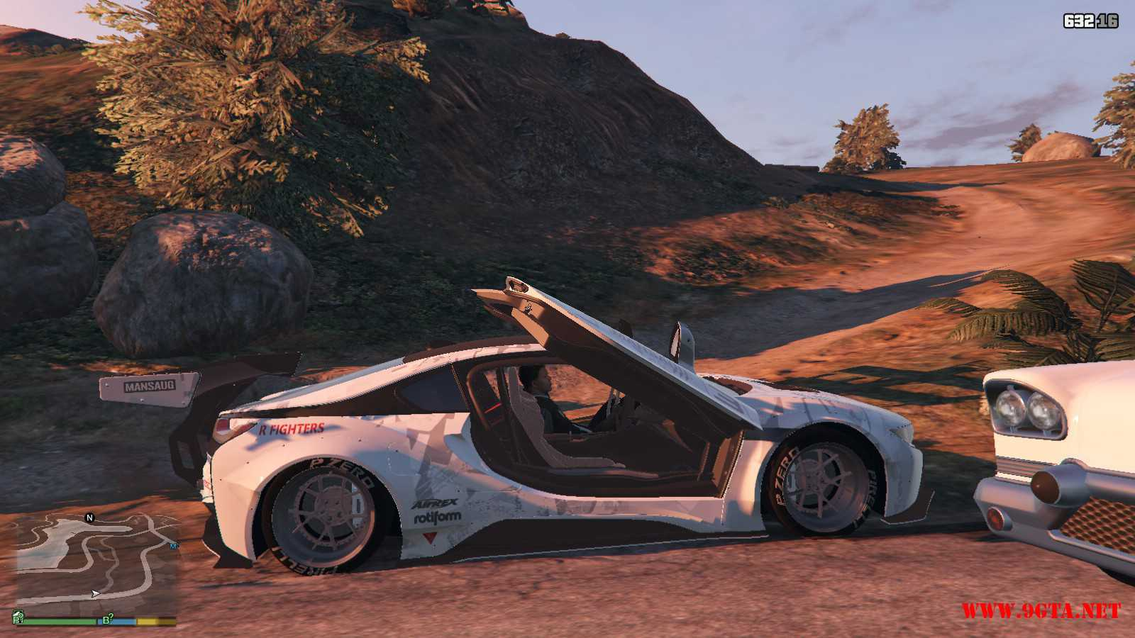 BMW I8 GTA5 Mods (16)