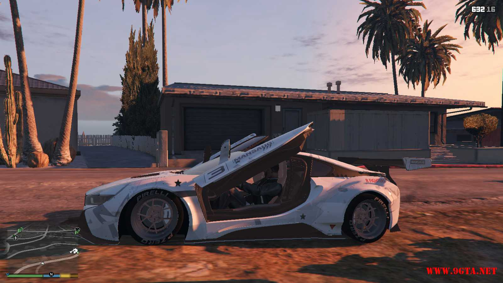 BMW I8 GTA5 Mods (17)
