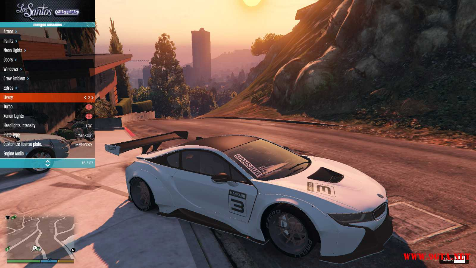 BMW I8 GTA5 Mods (2)