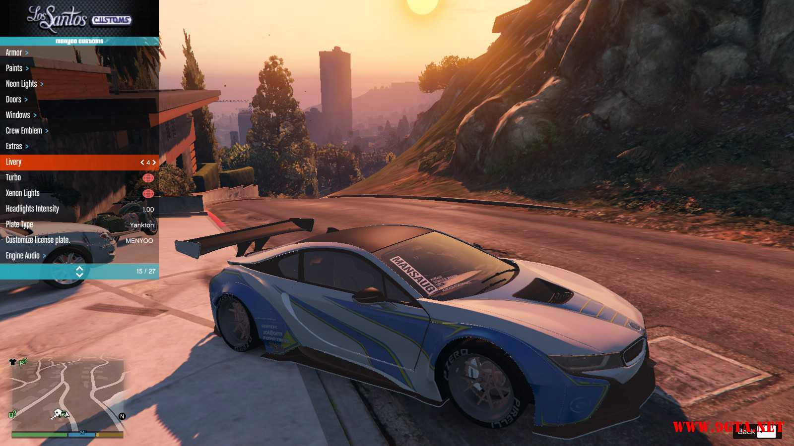 BMW I8 GTA5 Mods (4)