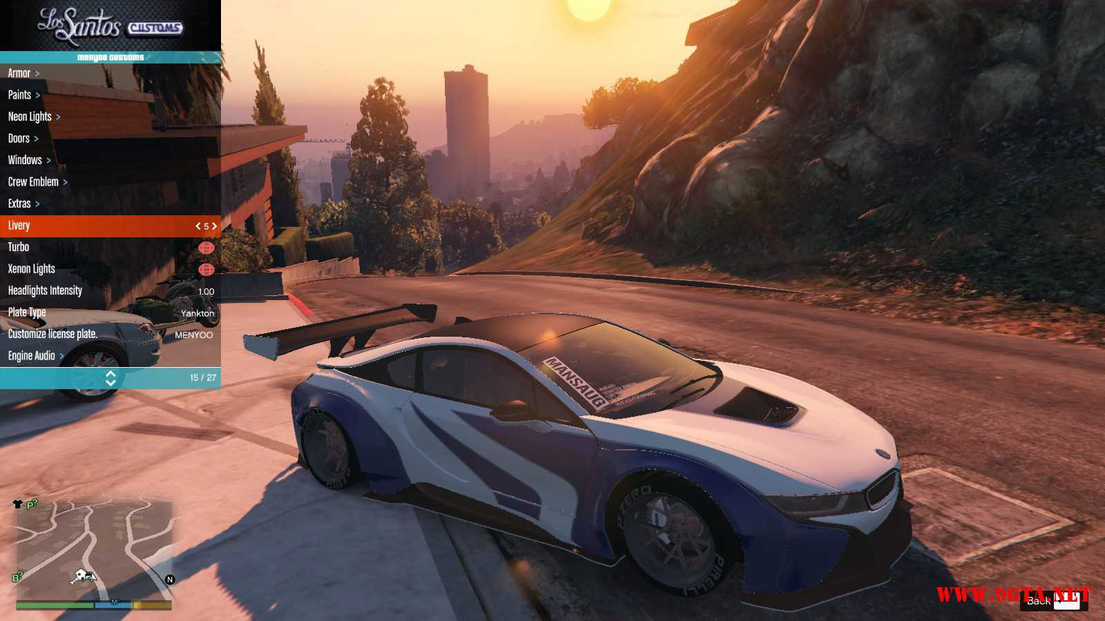 BMW I8 GTA5 Mods (5)
