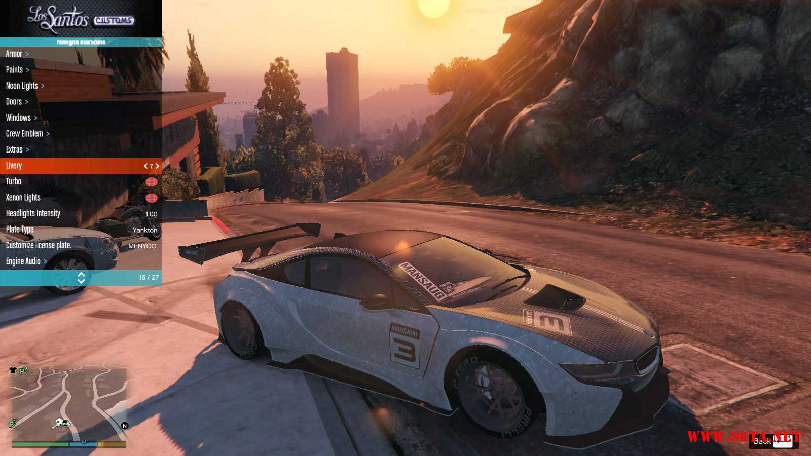 BMW I8 GTA5 Mods (7)