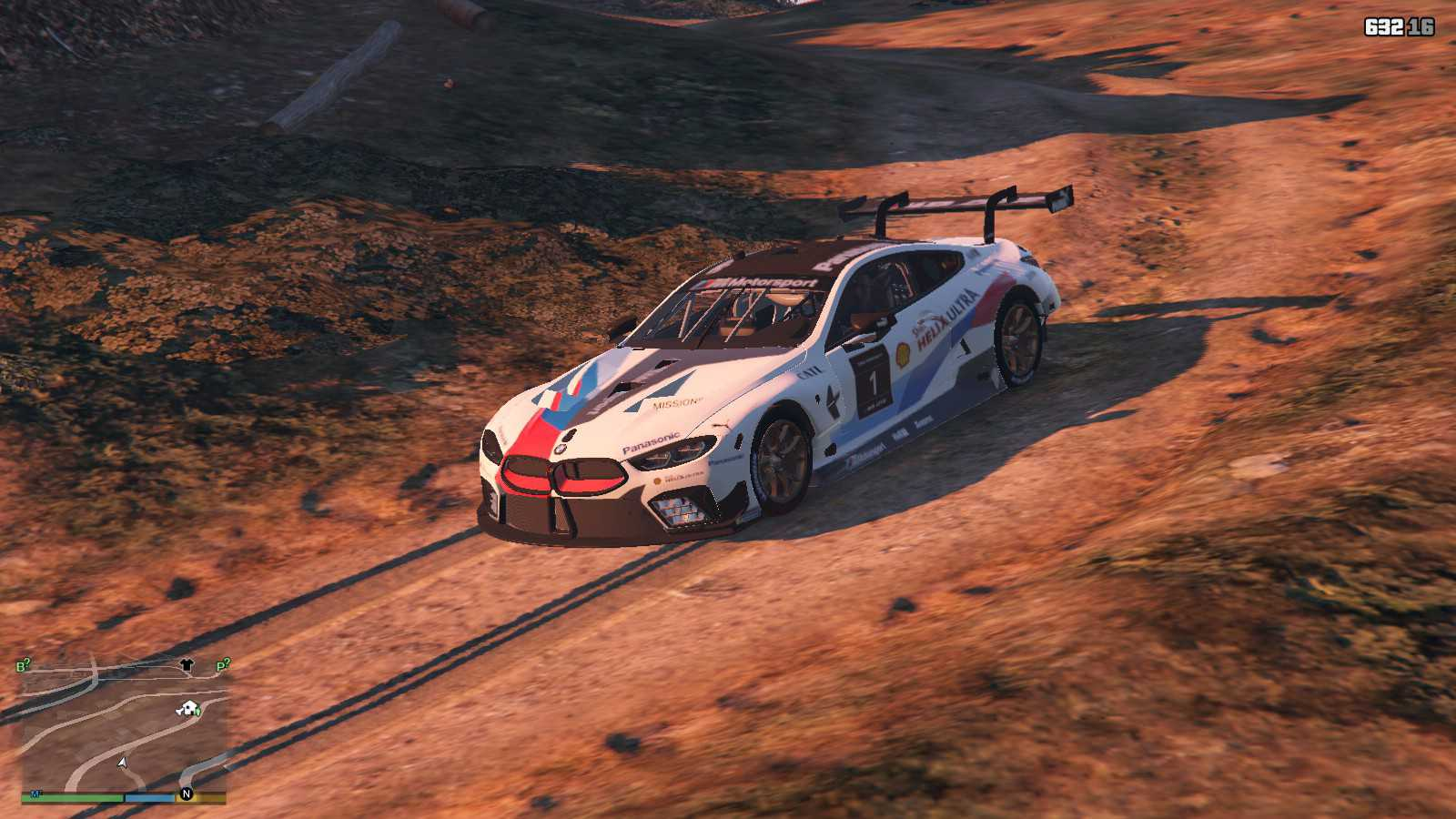 BMW M8 GTE GTA5 Mods (19)