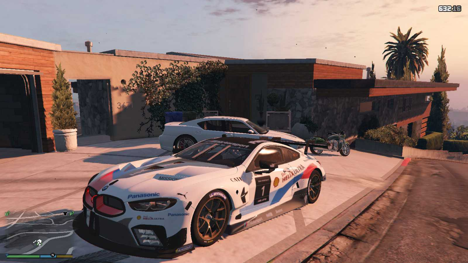 BMW M8 GTE GTA5 Mods (2)