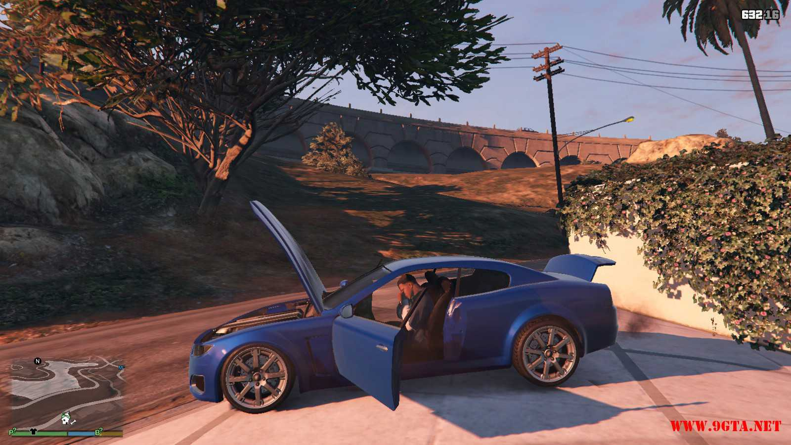 Felon Coupe GTA5 Mods (12)