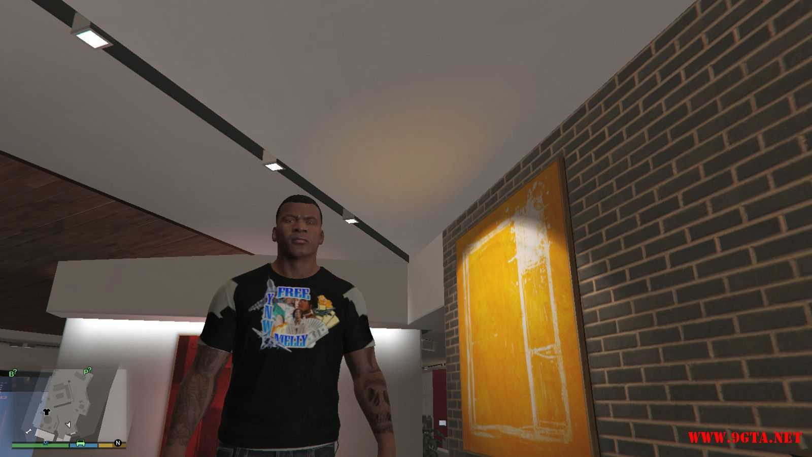Free YNW Melly T-Shirt GTA5 Mods (1)