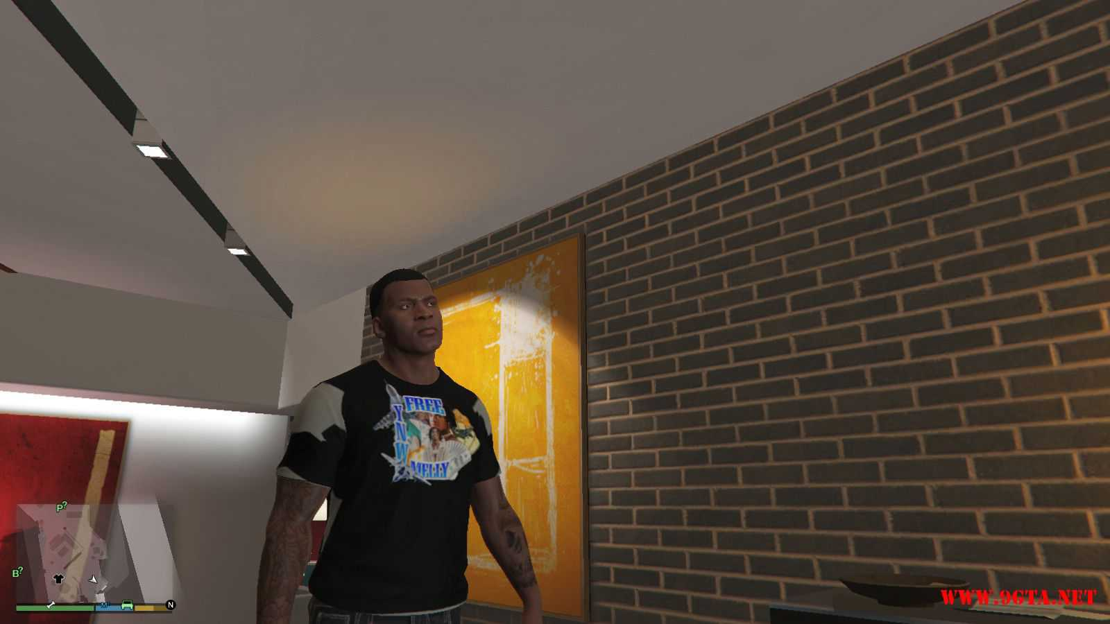 Free YNW Melly T-Shirt GTA5 Mods (2)
