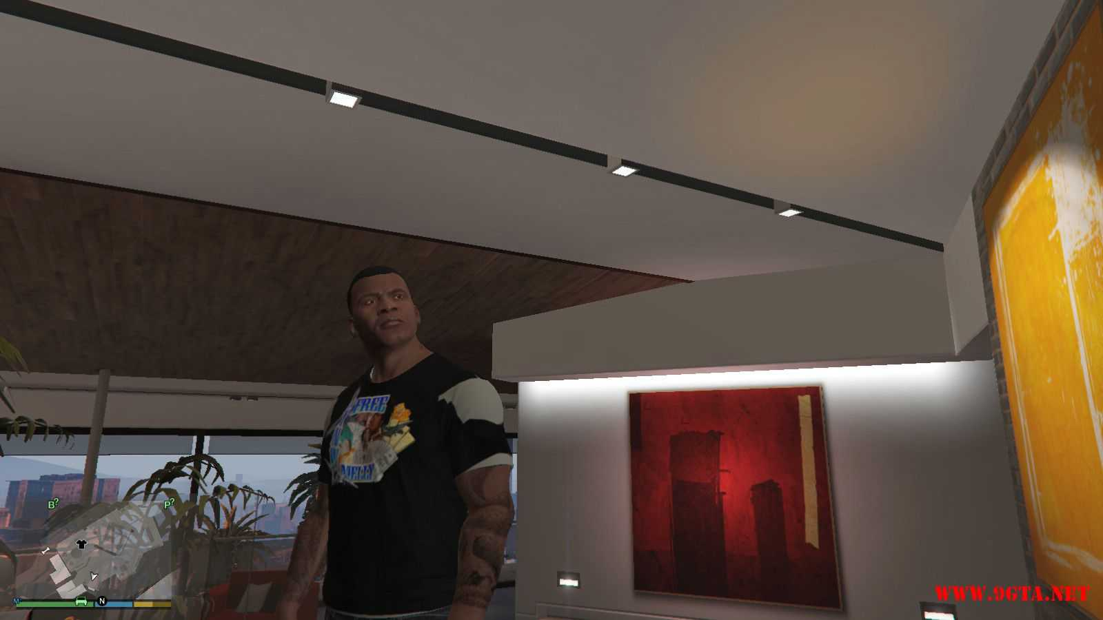 Free YNW Melly T-Shirt GTA5 Mods (3)