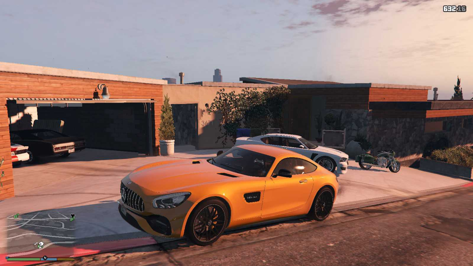 Mercedes AMG-GTS 2017 GTA5 Mods (1)