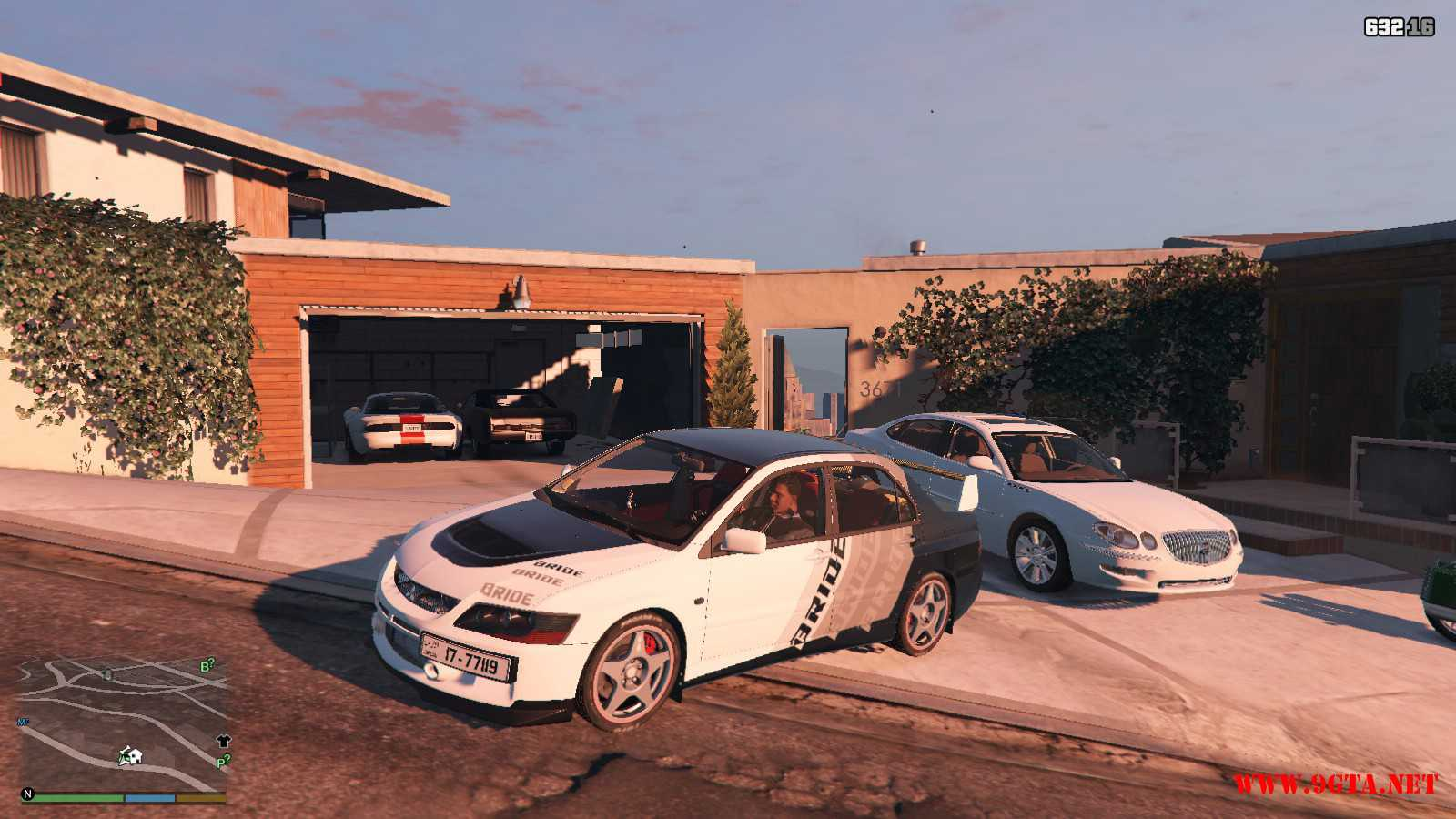 Mitsubishi Evolution IXFQ360 GTA5 mods (4)