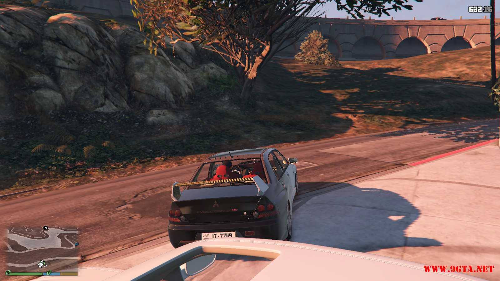 Mitsubishi Evolution IXFQ360 GTA5 mods (6)