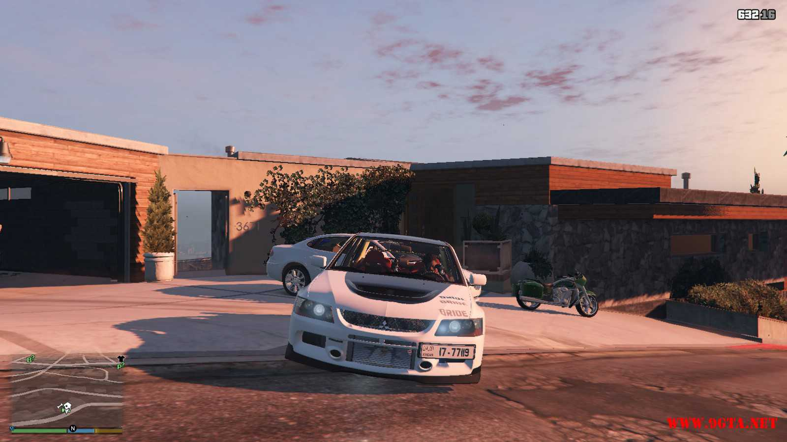 Mitsubishi Evolution IXFQ360 GTA5 mods (9)