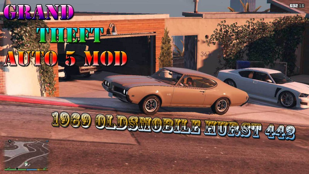 1969 Oldsmobile Hurst 442 Mod For GTA5