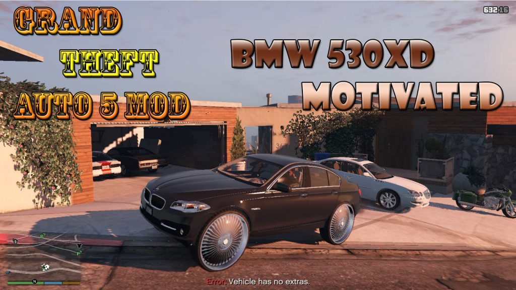 BMW 530XD Motivated Mod For GTA5