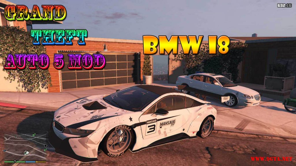 BMW i8 Mod For GTA5