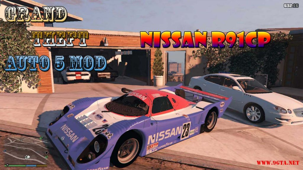 Nissan R91CP Mod For GTA5
