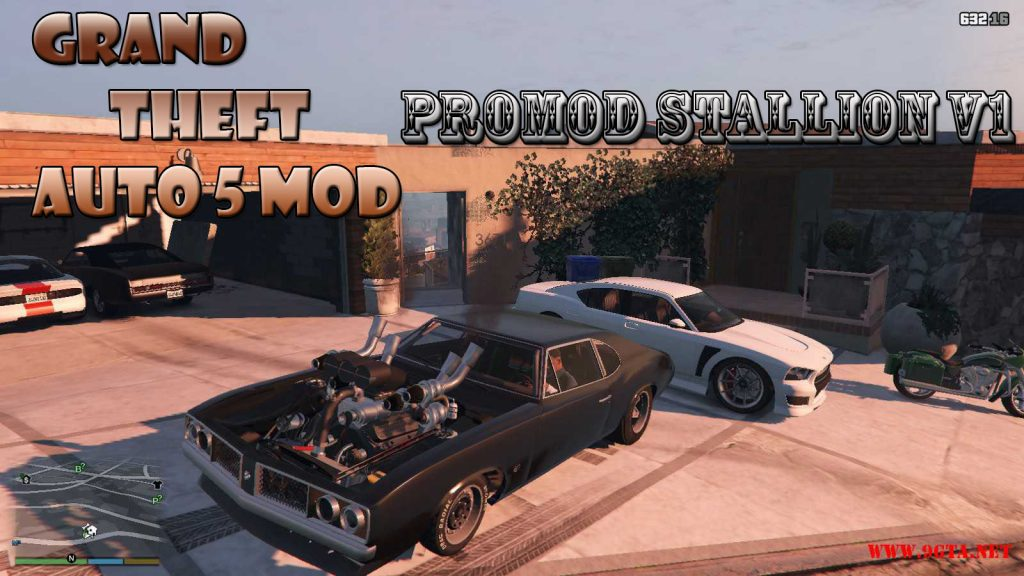 Promod Stallion v1.0 Mod For GTA5