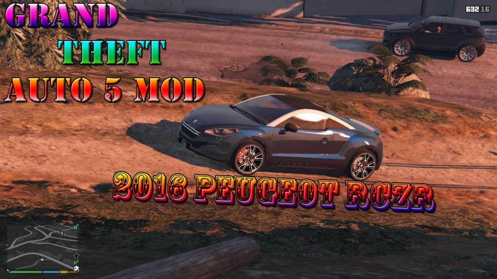 2016 Peugeot RCZR Mod For GTA5